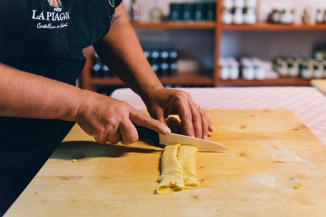Cooking Class in Tuscan Farmhouse from San Gimignano