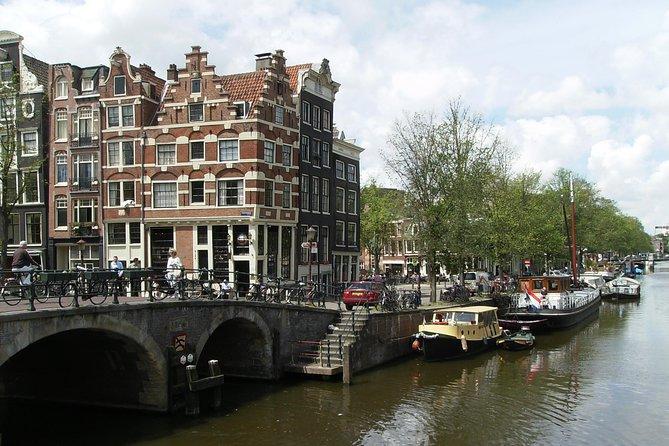 1,5 hours Amsterdam Rickshaw Tour