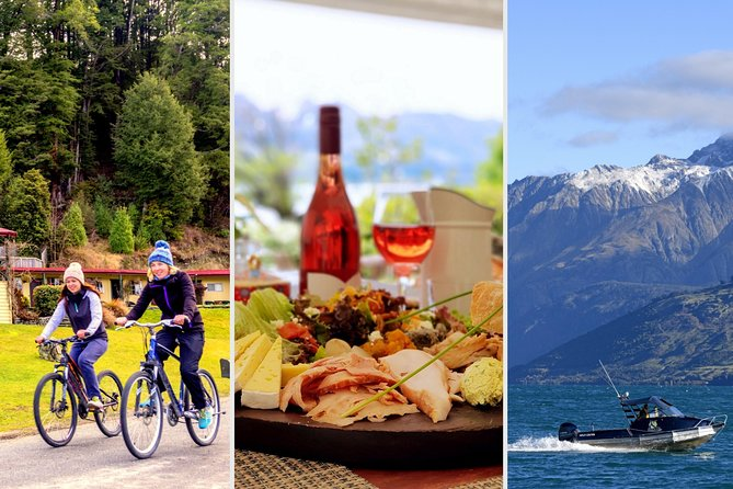 Bike, lunch and boat package