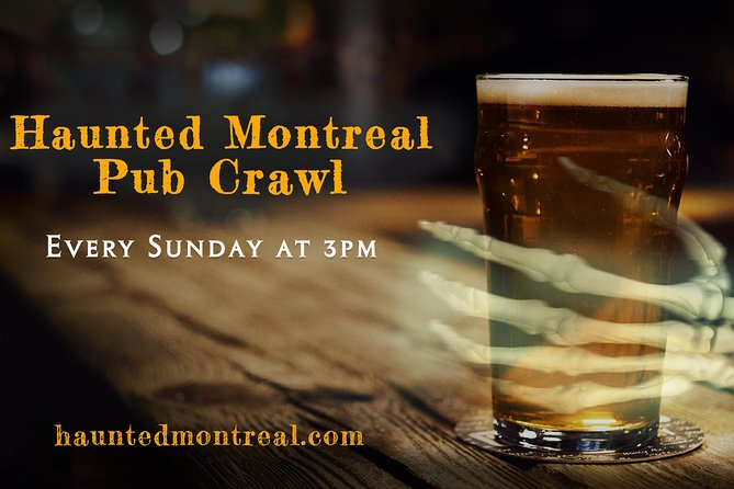 Haunted Montreal Pub Crawl