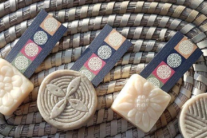 Gør naturlig sæbe ud af makgeolli (koreansk traditionel spiritus)