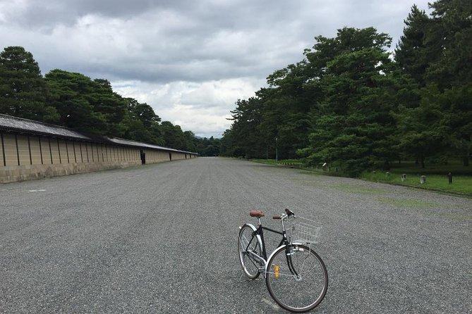 Cycling at Kyoto Higashiyama (Shimogamo jinja, Ginkakuji temple, Gion, etc)