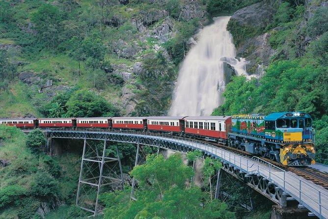Kuranda Tourism Deluxe (Sky Rail · Army Duck · Wildlife Park · Kuranda Train)