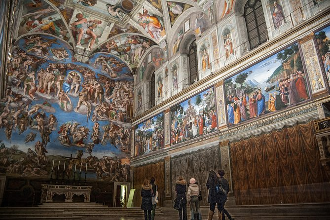 Vatican Museums and Sistine Chapel Early Entry Private Tour