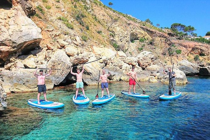 Paddle SUP Secret Blue Lagoon & Cave Tour in Javea