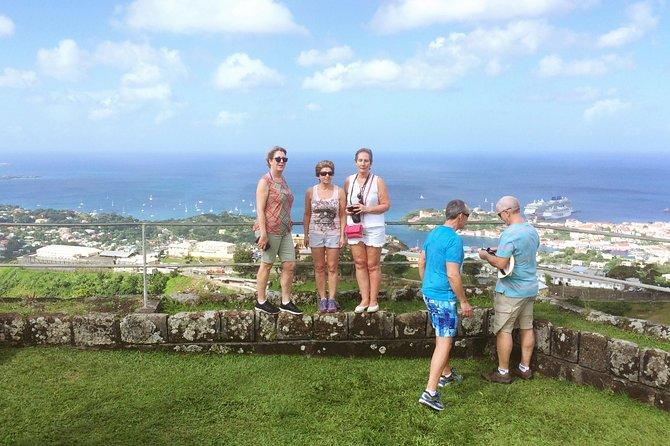 Express Tour Annandale Waterfall Fort Fredrick y regreso al Crucero