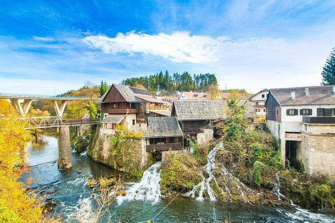 Plitvice lakes with Rastoke from Zagreb