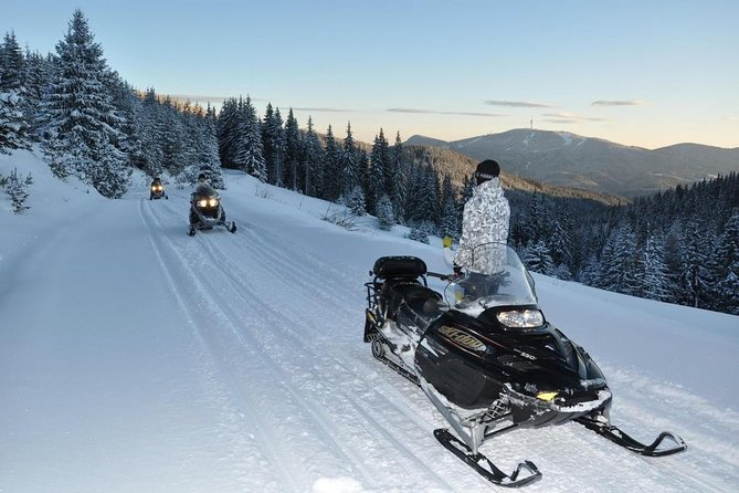 Pamporovo Ultimate Snowmobile Experience