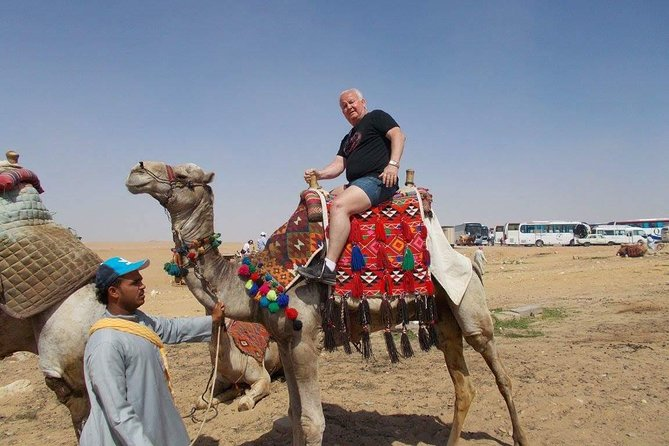 Half Day tour to Giza Pyramids with Camel Riding photo 2
