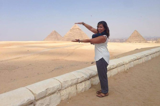 Half Day tour to Giza Pyramids with Camel Riding photo 9