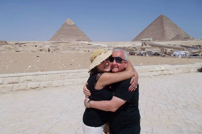 Half Day tour to Giza Pyramids with Camel Riding photo 1