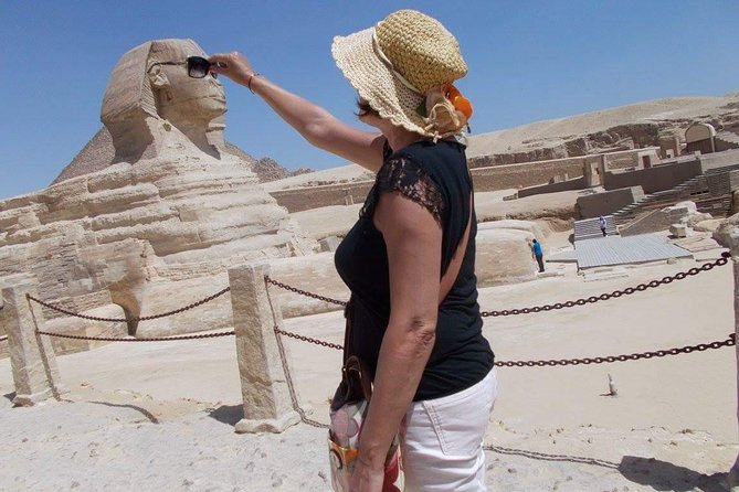 Half Day tour to Giza Pyramids with Camel Riding photo 3