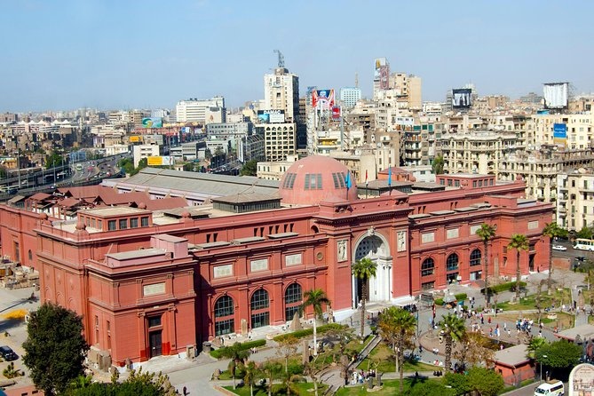 night guided trip to Egyptian museum tour