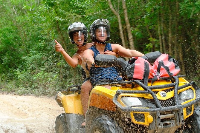 ATV Xtreme (single rider) & Zip-lines from Cancun