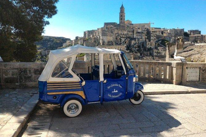 "Ape Calessino Tour Sassi of Matera ""Standard"""
