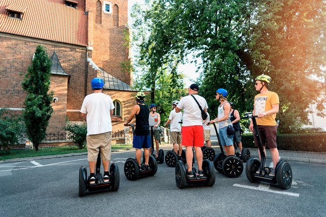 Segway Tour of Krakow: Full Tour (Old Town + Jewish Quarter) - 3-Hours of Magic!