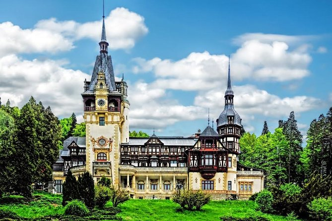 Dracula's Castle, Peleș Castle and Brasov city, from Bucharest, Private tour