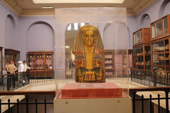Giza Pyramids & Sphinx and Egyptian museum Full day Private Tour photo 14