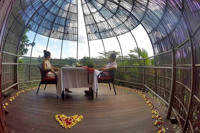 Birds Nest Romantic Dining in Ubud
