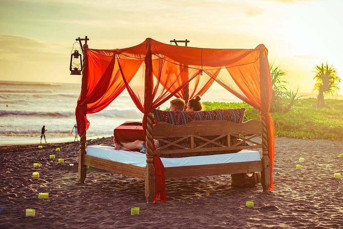 Picnic in Bed at the Beach in Canggu