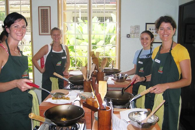 Traditional Malaysian Cooking Class with Herb Garden Tour