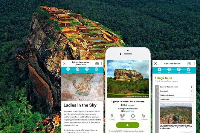 Visite autoguidée mobile du site du patrimoine mondial de Sigiriya (Sri Lanka)