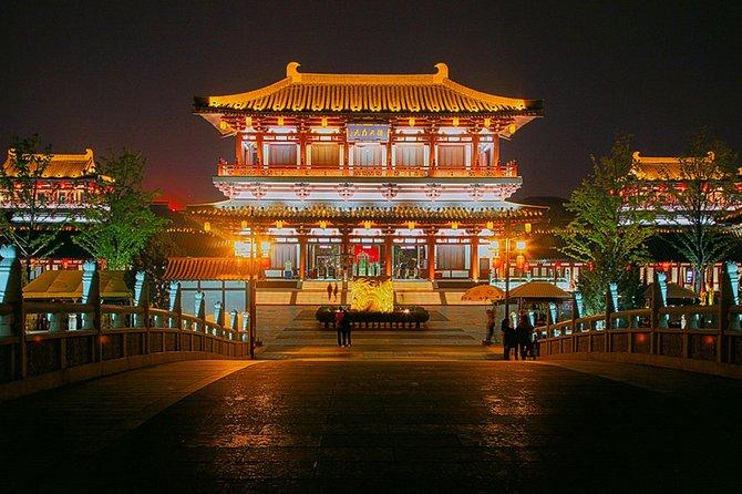 Tour privado por la tarde: Guerreros de terracota de Xi'an y Tang Paradise