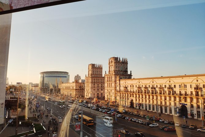 Exciting sightseeing tour around Minsk