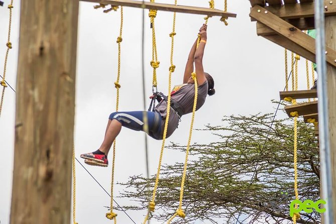 Ziplining Experience in Corner Baridi, Ngong Hills