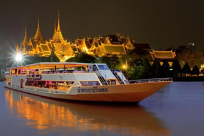 Bangkok Chao Phraya Princess Dinner Cruise with Optional Transfer