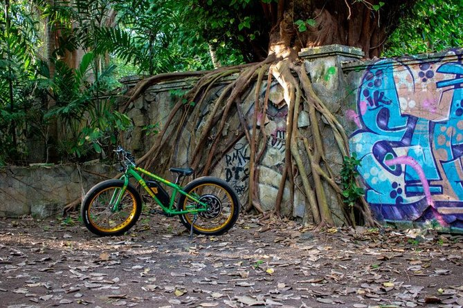 Sanur Beach E-Bike Magical Arts Half-Day Tour