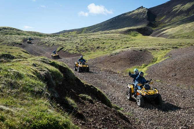 1hr ATV Adventure & Whale Watching Combination Tour from Reykjavik