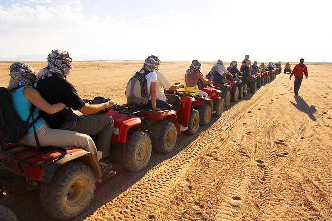 Desert Safari with Quad Bike, 4x4 Dune Bashing and Camel Ride