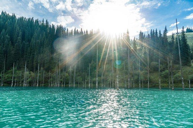 Kolsay and Kaindy lakes