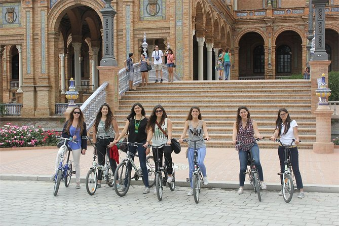 Bike rental in Seville city centre. 5 different locations