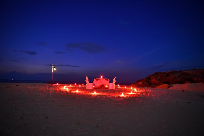Romantic Candle Light Dinner And Beach Stay.