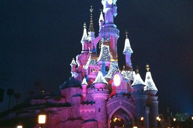 Transfer Van Private Disneyland Paris