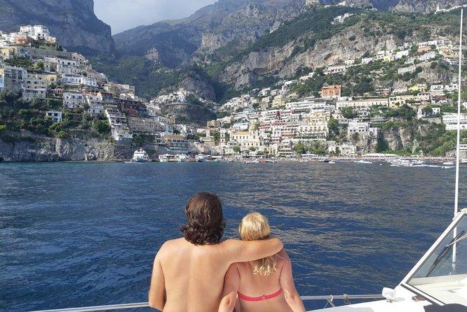 Premium Positano and Amalfi Boat Tour From Sorrento Max 7 People