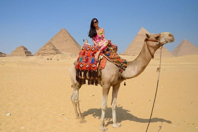 tour Giza pyramids sphinx , camel ride and Nile river felucca ride