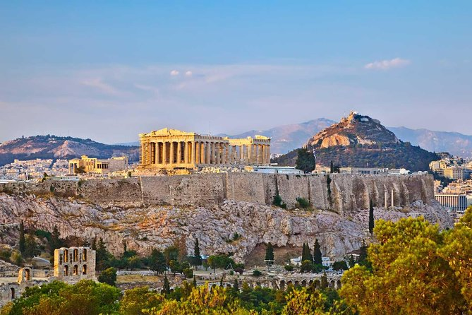 Athens City Tour with Acropolis in the Afternoon