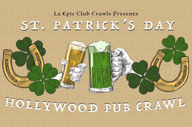 2019 St Patrick's Day Hollywood Pub Crawl