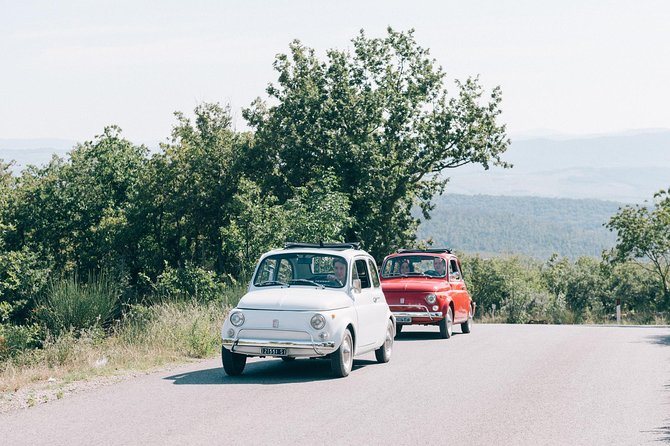 Private Vintage Fiat 500 tour in Tuscany From Florence