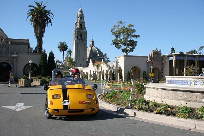 San Diego GoCar Talking 4Hr GoCar Tour: Shoppers Delight
