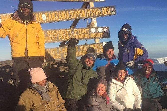 Mt KILIMANJARO CLIMB VIA LEMOSHO 8 DAYS