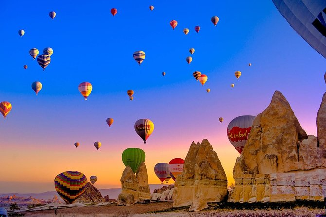 Jewels of Turkey - 4 Day Trip to Pamukkale Ephesus Cappadocia with Balloon Ride