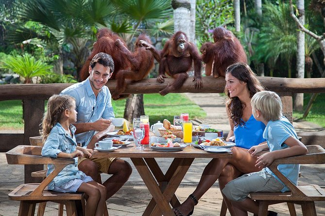 Bali Zoo: Breakfast with the Orangutans