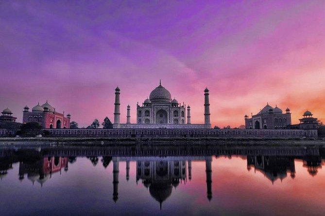 Same Day Agra Tour With Taj Mahal and Agar Fort