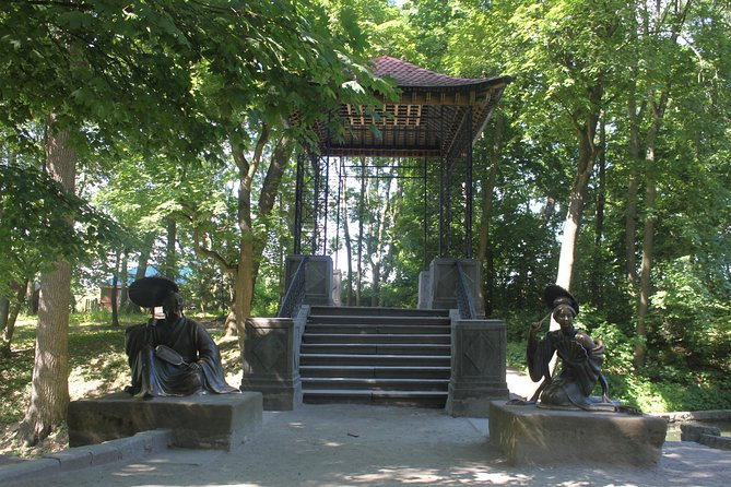 Arboretum Oleksandriya Park and City tour in Bila Tserkva from Kyiv