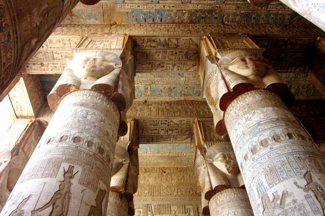 dendera and abydos temple from Luxor photo 2