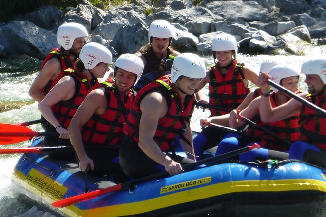 Isar rafting in Lenggries with private transport